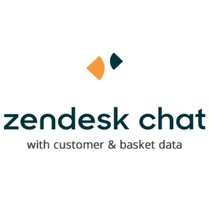 Zendesk Live Chat with customer and basket data