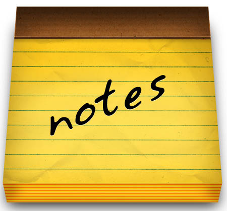 Internal Notes - Store private notes