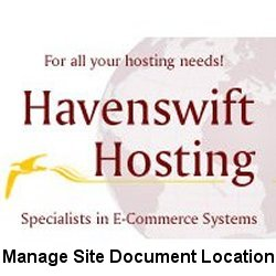 Manage Site Document Location